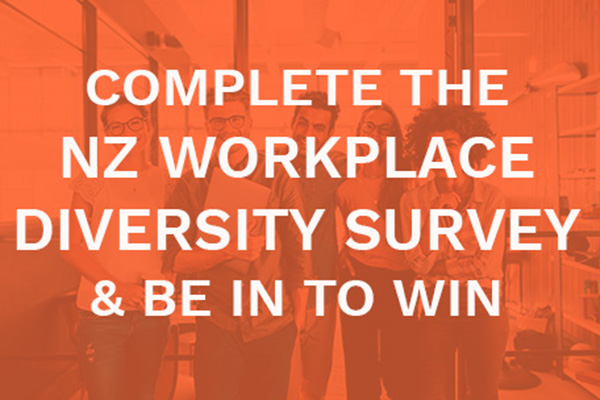 Complete the NZ Workplace Diversity Survey & be in to win