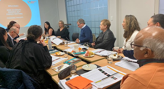 Judges choosing the 2020 Diversity Awards NZ finalists