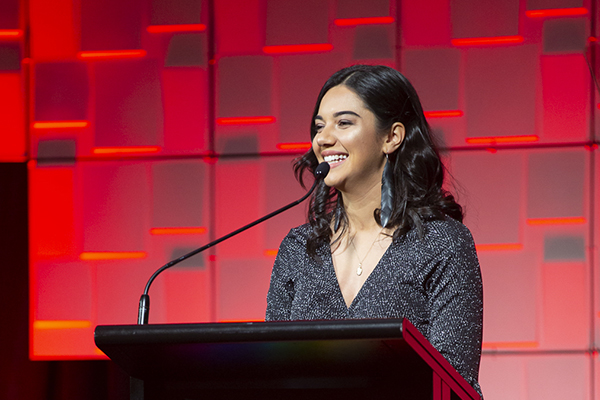Stevie Davis-Tana presents the 2019 Diversity Awards NZ