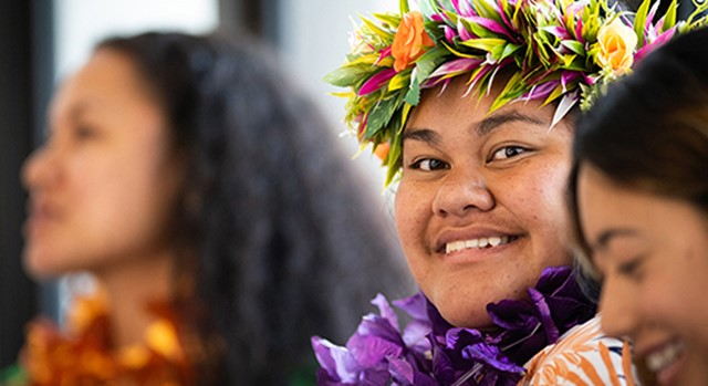 Pasifika intern from the Ministry of Business, Innovation and Employment Tupu Tai intern initiative