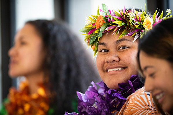 Pasifika intern at the Ministry of Employment, Business and Innovation