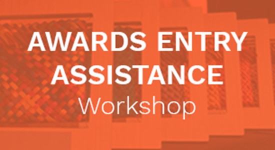 Awards Entry Assistance Workshop